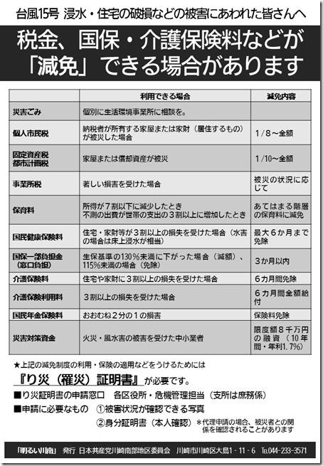 2019台風15号 明るい川南